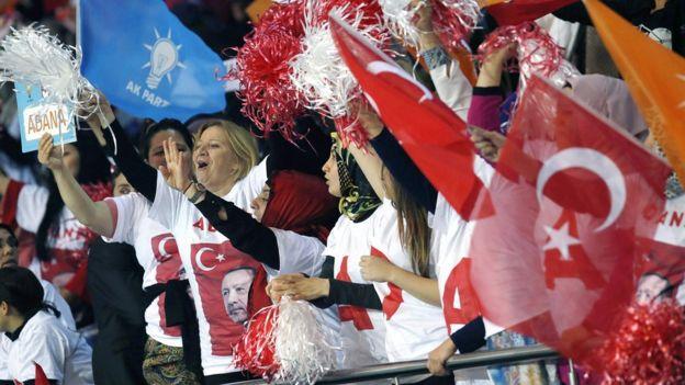 AKP Kongresi'nden kadınlar