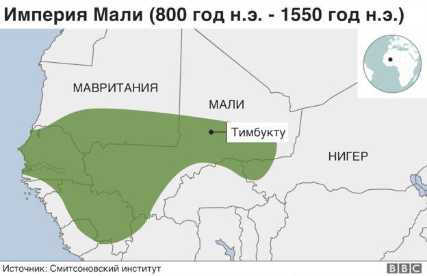 границы империи Мали