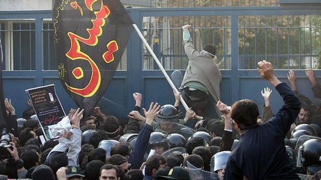 حمله به سفارت بریتانیا در سال ۱۳۹۰