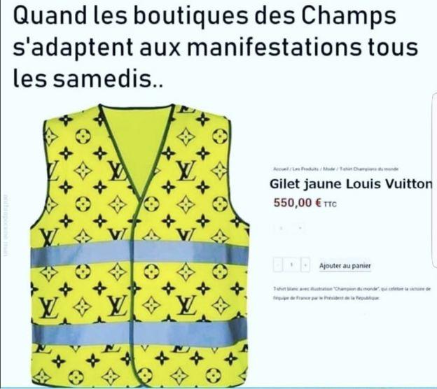 Meme critica diferenças sociais na França