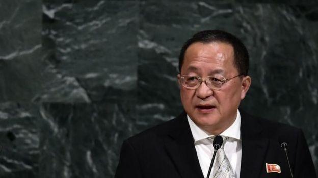 Ministro de Relaciones Exteriores de Corea del Norte, Ri Yong-ho