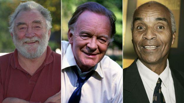 David Bellamy, Tony Britton and Kenny Lynch
