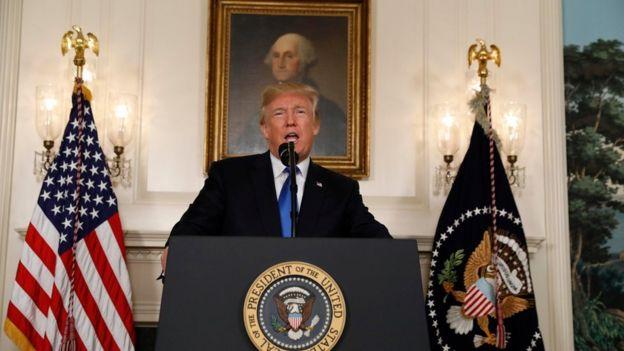 Madaxweynaha Mareykanka Donald Trump