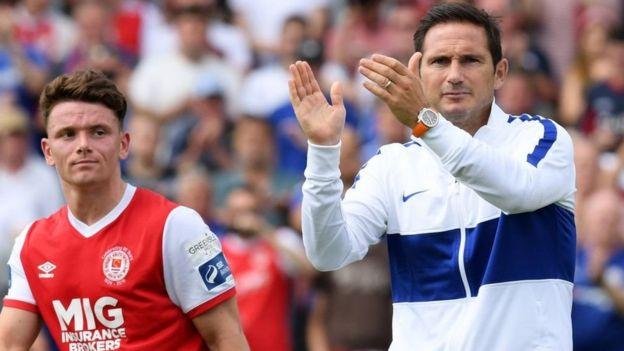 Kocha wa Chelsea Frank Lampard