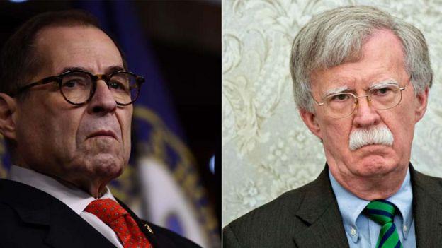 Jerry Nadler (left) and John Bolton