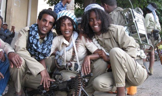eritrean women fighters