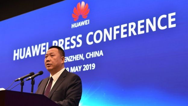 Song Liuping, chief legal officer of Chinese tech giant Huawei,