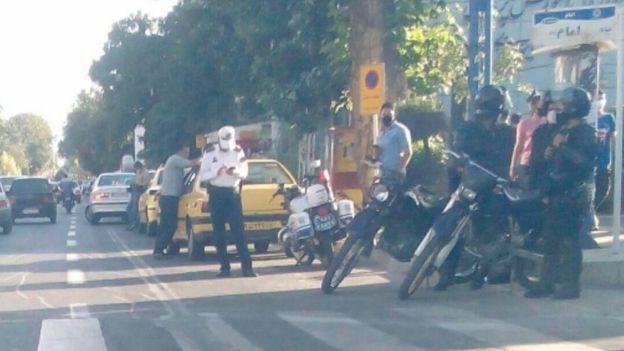 حضور نیروهای امنیتی در ارومیه