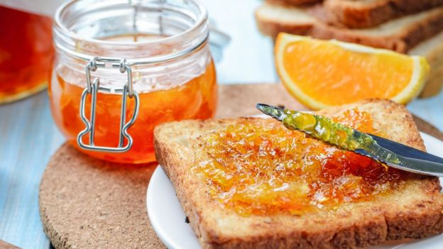 George Orwell Gets Food Essay Apology From British Council After   Orange Marmalade On A Slice Of Toast