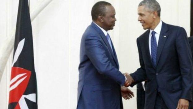 Rais Uhuru Kenyatta atamkaribisha Obama katika ikulu punde atakapowasili Kenya