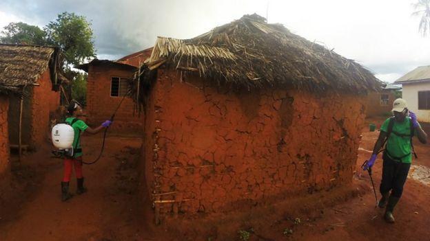 Poblado en Tanzania