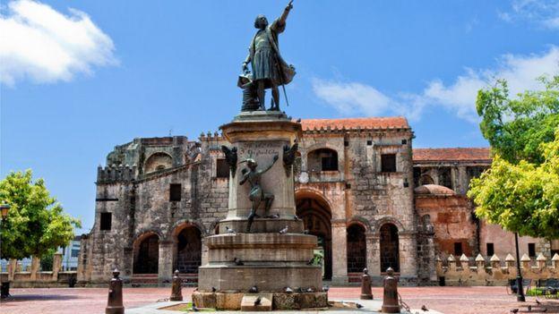 Plaza de la catedral Primada de América Santo Domingo