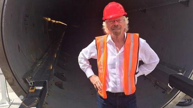 Richard Branson. Foto: Virgin.