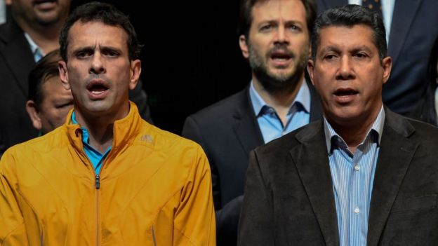 Henrique Capriles, Henri Falcón.