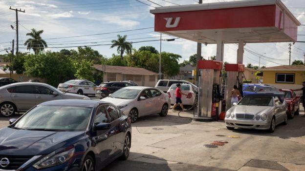 Gasolinera en Miami