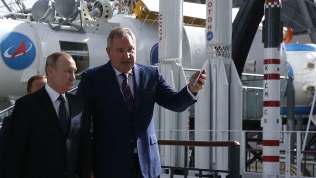 vladimir putin Dmitry Rogozin espacio