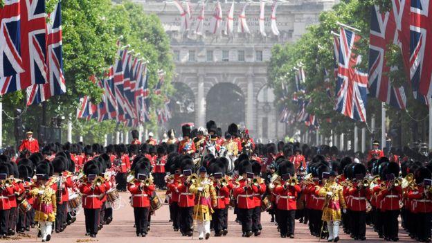 Парад в Лондоне