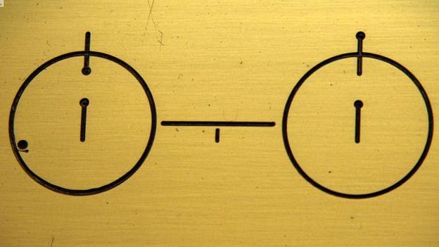 atome d'hydrogène dans ses deux états d'énergie les plus bas.