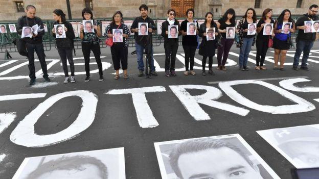 Más de una decena de periodistas fueron asesinados en México en 2017.
