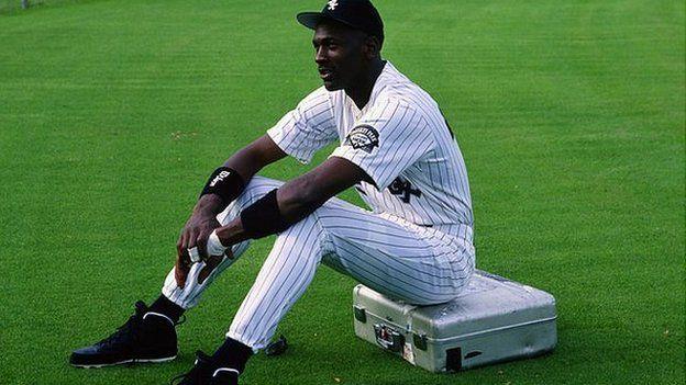 Michael Jordan, baseball