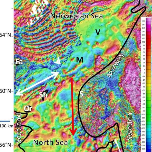 Mapa de campos magnéticos