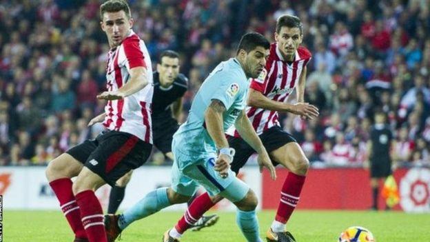 Manchester City imekubali dau la rekodi ya £57m kumsajili beki wa kati wa Athletic Bilbao's ,23, Aymeric Laporte. (Guardian)