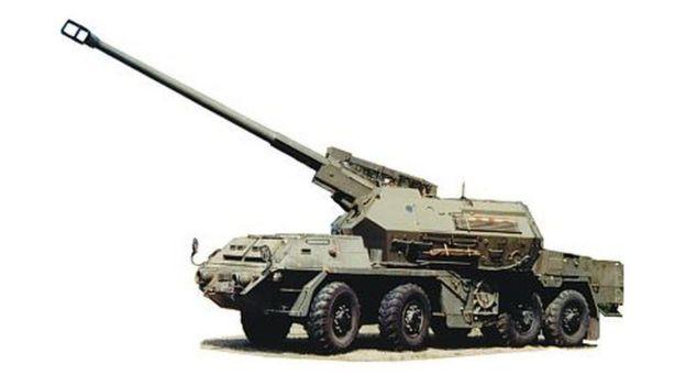 155-мм словацька САУ Zuzana
