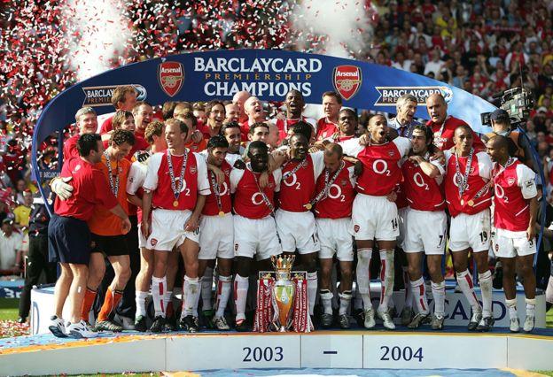 """El Arsenal de los """"Invencibles"""""""