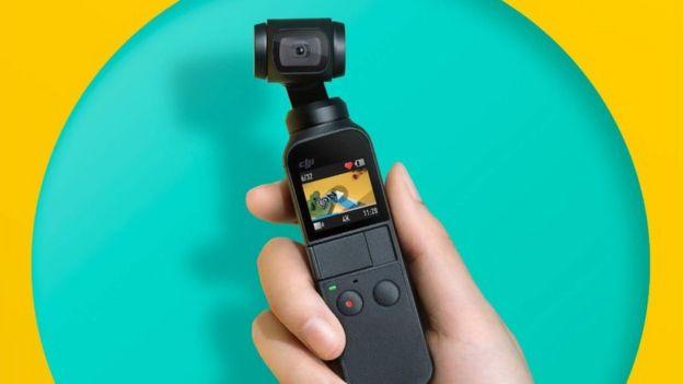 DJI Osmo Action camera poses threat to GoPro - BBC News