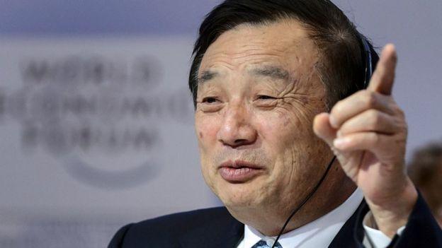 Ren Zhengfei, fundador de Huawei.