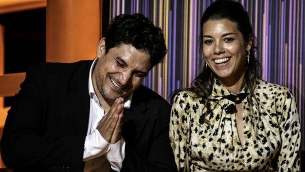 Mauro Colagreco y su esposa Julia
