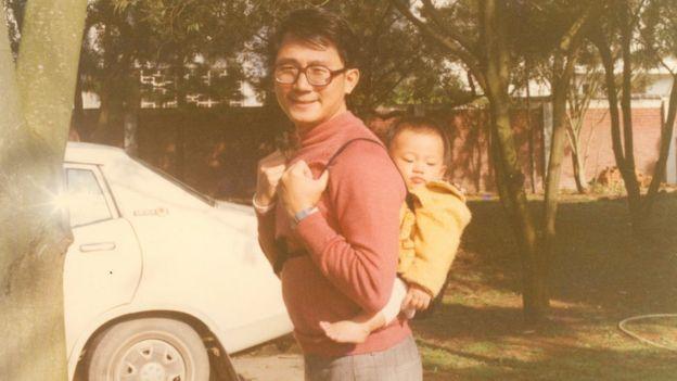 1980年代張憲義在台灣的生活照