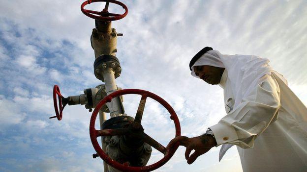 Instalação petrolífera saudita