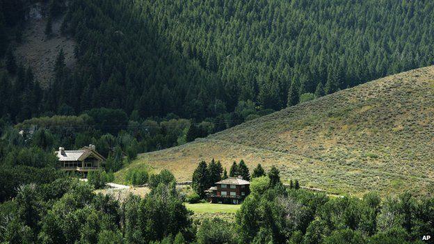Ernest Hemingway's house is set in woodland