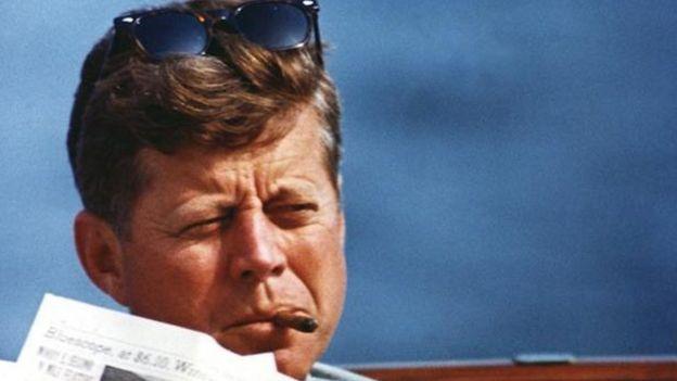 Başkan John F Kennedy