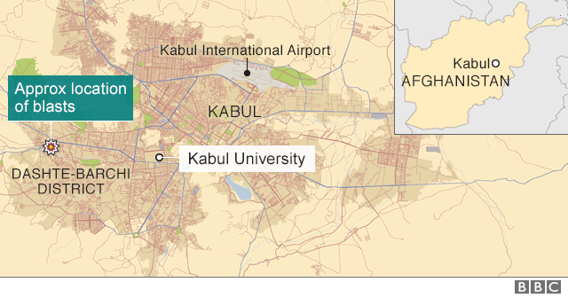 Afghanistan Suicide Bomb Attack Dozens Killed In Kabul BBC News - Where is kabul