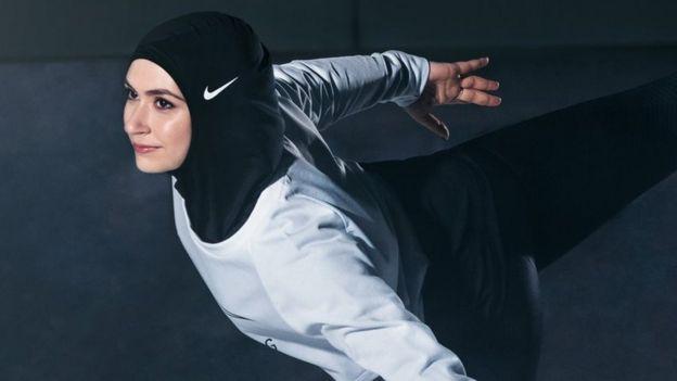 Jilbab untuk atlet