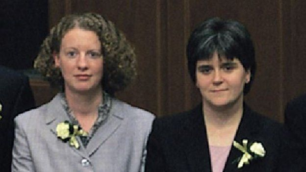 Shona Robison and Nicola Sturgeon