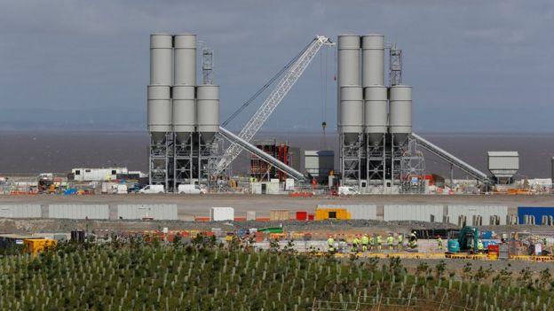 欣克利角核电厂是中国公司在英国投资的其中一个主要项目。
