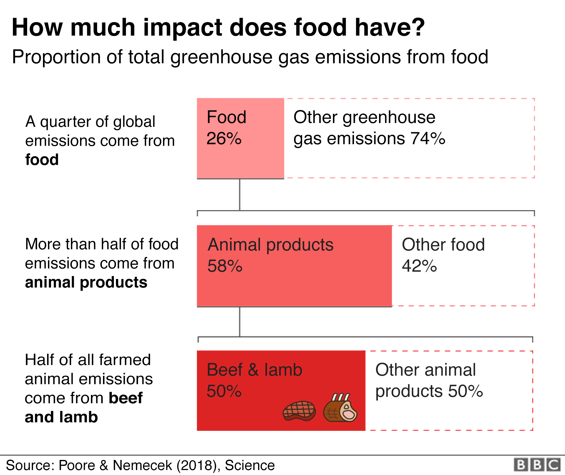 Climate change food calculator: What's your diet's carbon footprint