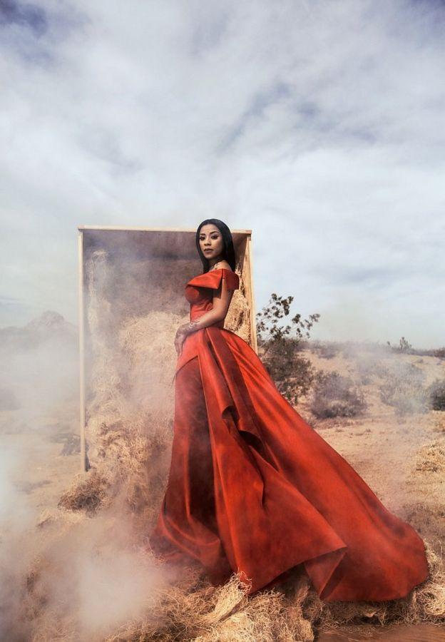 Фото Саші Самсонової зі співачкою Кейшою Коул, володаркою платинових альбомів і зркою реаліті-шоу