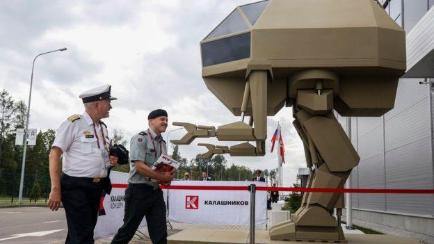 Igorek, robot de combate de Kalashnikov