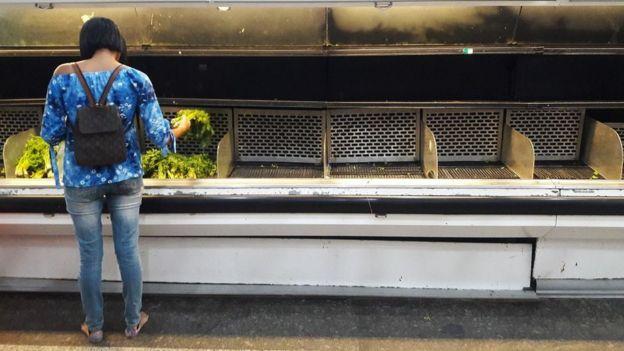 El desabastecimiento ha sido uno de los grandes problemas de la economía venezolana en los últimos años.