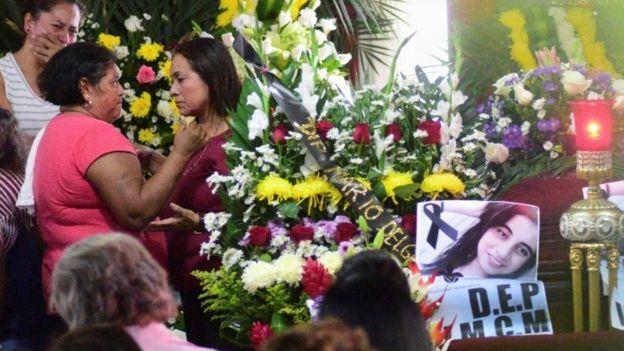 Funeral de Valeria Cruz Medel
