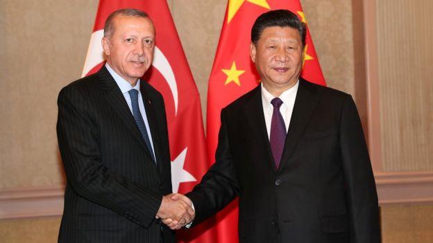 """今年7月""""金磚五國""""峰會在南非的約翰內斯堡召開,中國國家主席習近平會晤土耳其總統埃爾多安。"""