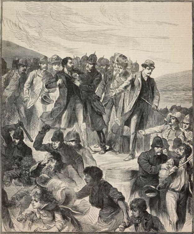إلقاء القبض على الشاعر ويلفريد بلانت