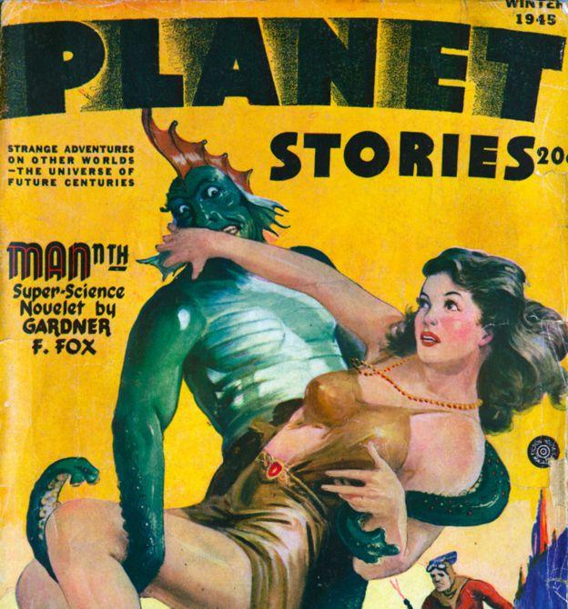 Revista de ciencia ficción de Nueva York en 1945