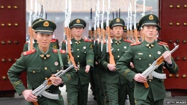 Çin, hərbi güc