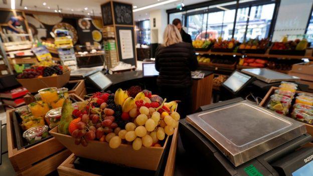 frutas no mercado