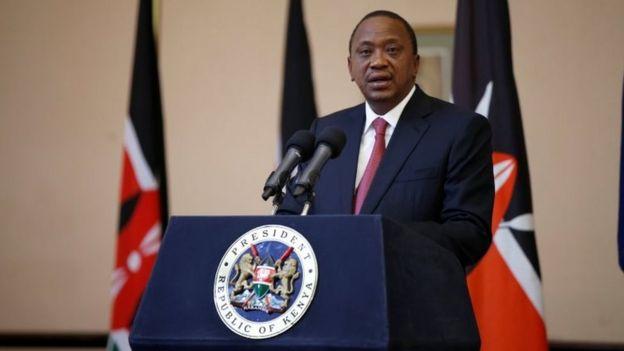 Kenyan President Uhuru Kenyatta. Photo: 21 September 2017